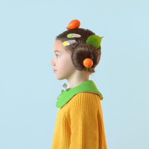 citrus clips // hello shiso hair accessories for girls