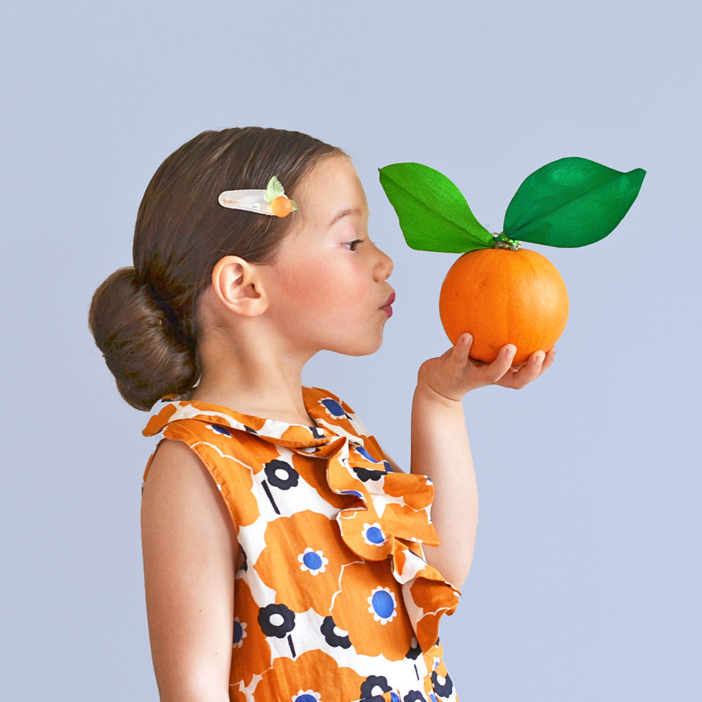 clementine clip // hello shiso hair accessories for girls