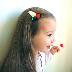confetti clip // hello shiso hair accessories for girls