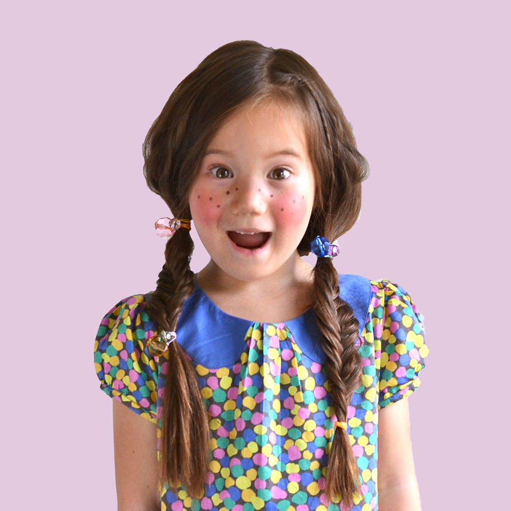 crystal ponytail holder // hello shiso hair accessories for girls