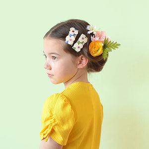 field of flowers clip // hello shiso hair accessories for girls