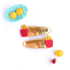 french fries clips // hello shiso hair accessories for girls
