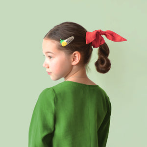 happy pineapple // hello shiso hair accessories for girls