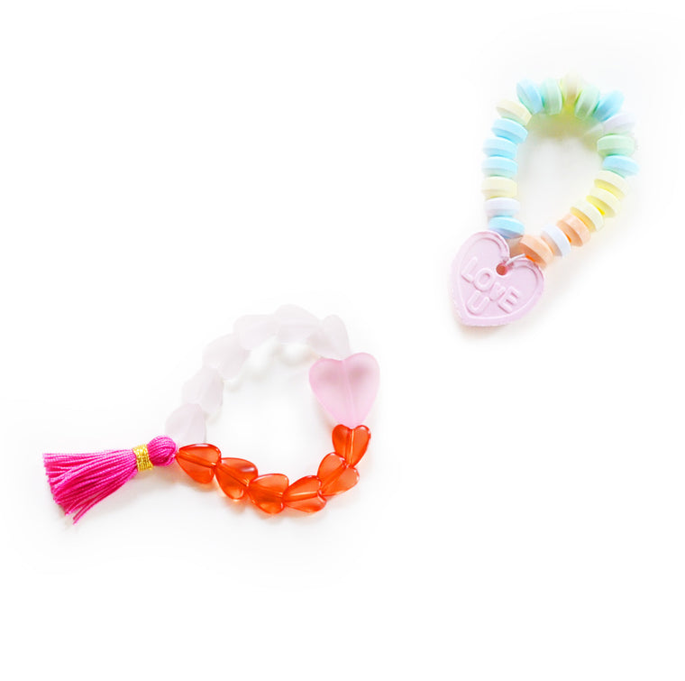 heart bracelet // hello shiso hair accessories for girls