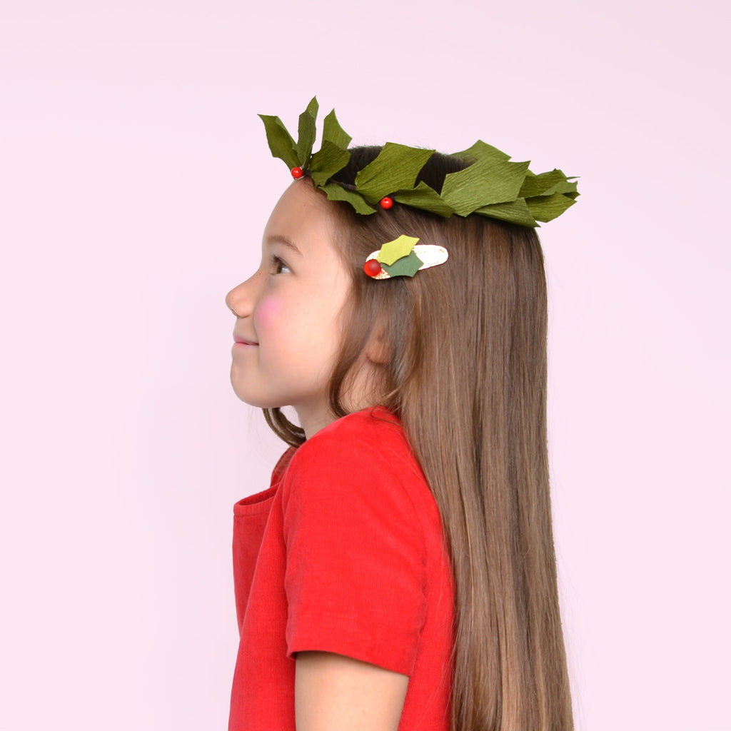 holly clip // hello shiso hair accessories for girls