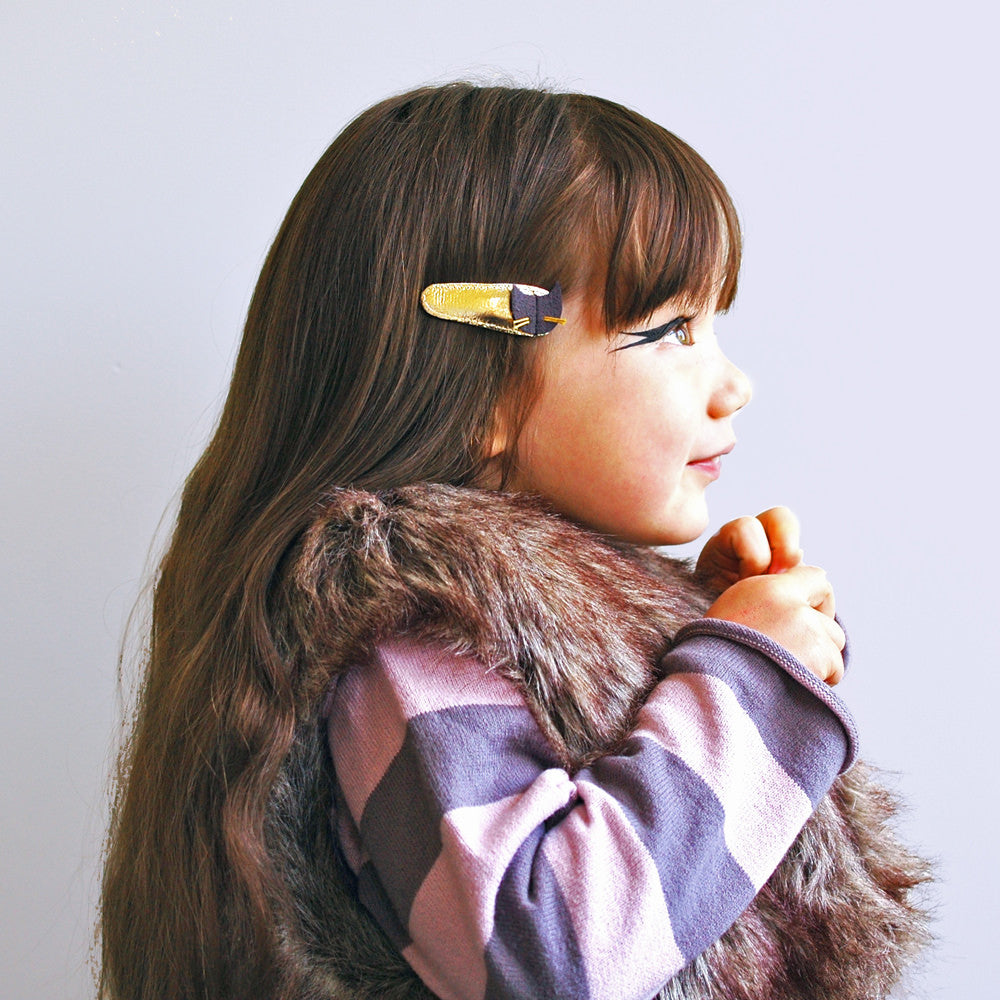 kitty clips  // hello shiso hair accessories for girls
