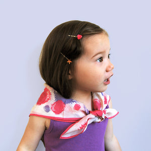 little gem clips // hello shiso hair accessories for girls