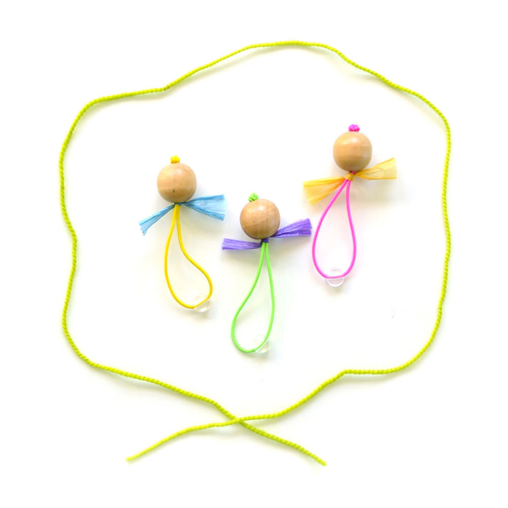 marionette hair ties // hello shiso hair accessories for girls