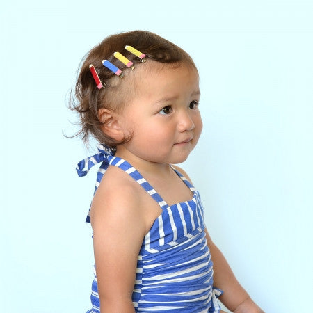 pencil clips // hello shiso hair accessories for girls