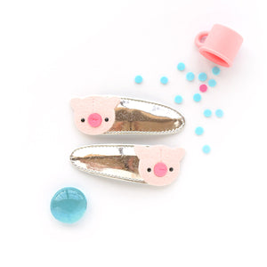 piggie clips // hello shiso hair accessories for girls