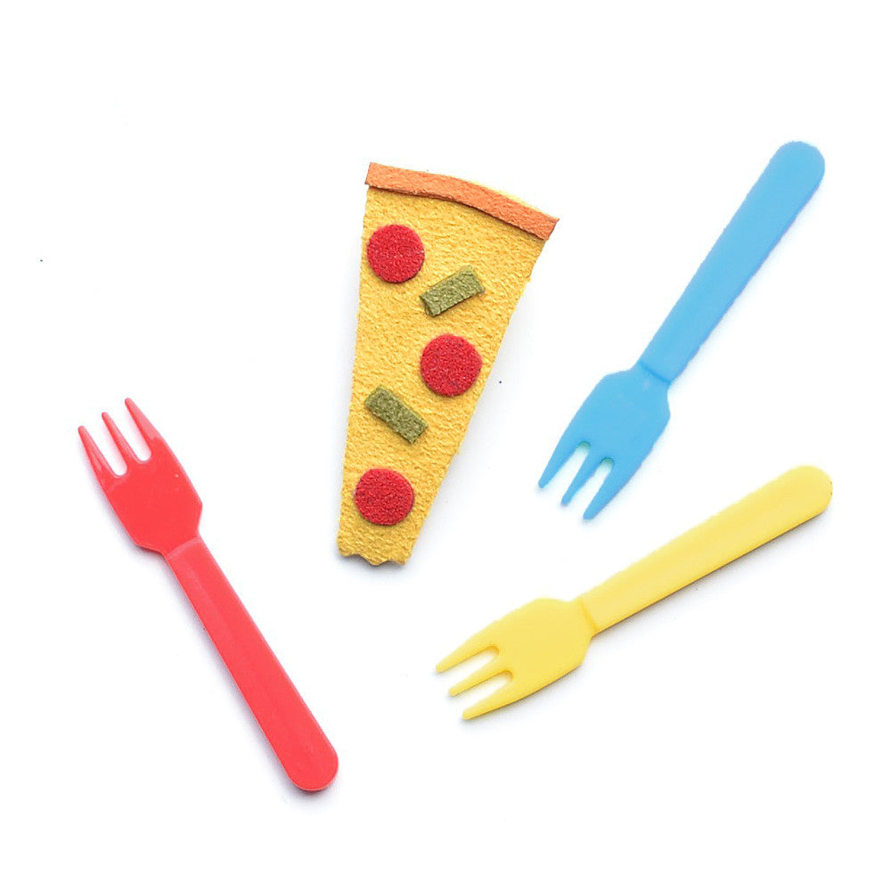 pizza clip // hello shiso hair accessories for girls