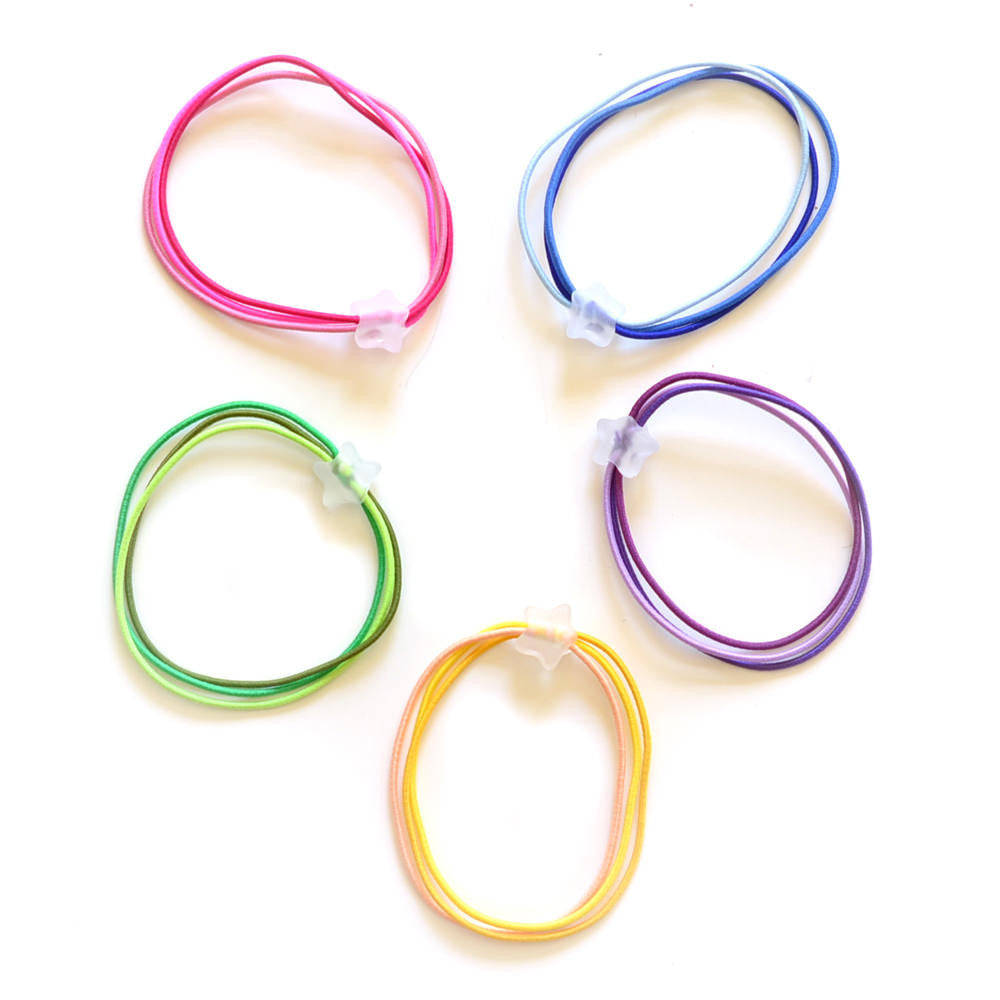 rainbow pony-o // hello shiso hair accessories for girls