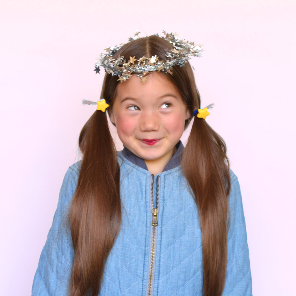 shooting star pony-o // hello shiso hair accessories for girls