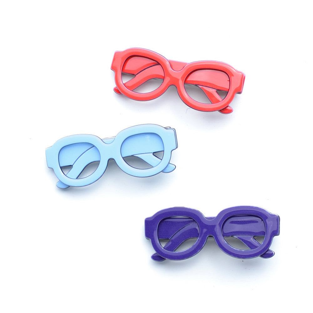 acrylic glasses clip // hello shiso hair accessories for girls