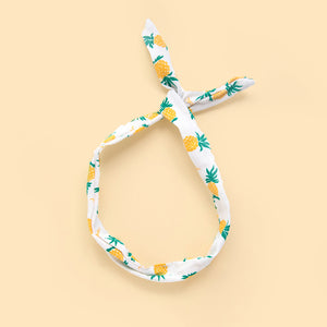 pineapple twist headband // hello shiso hair accessories for girls