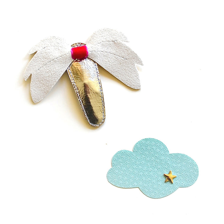 wing clip // hello shiso hair accessories for girls