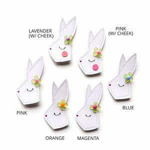 flower bunny clip // hello shiso hair accessories for girls