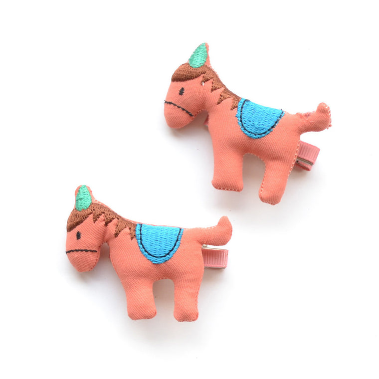 horse clip // hello shiso hair accessories for girls