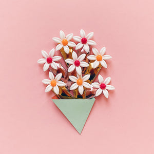 daisy clip // hello shiso hair accessories for girls