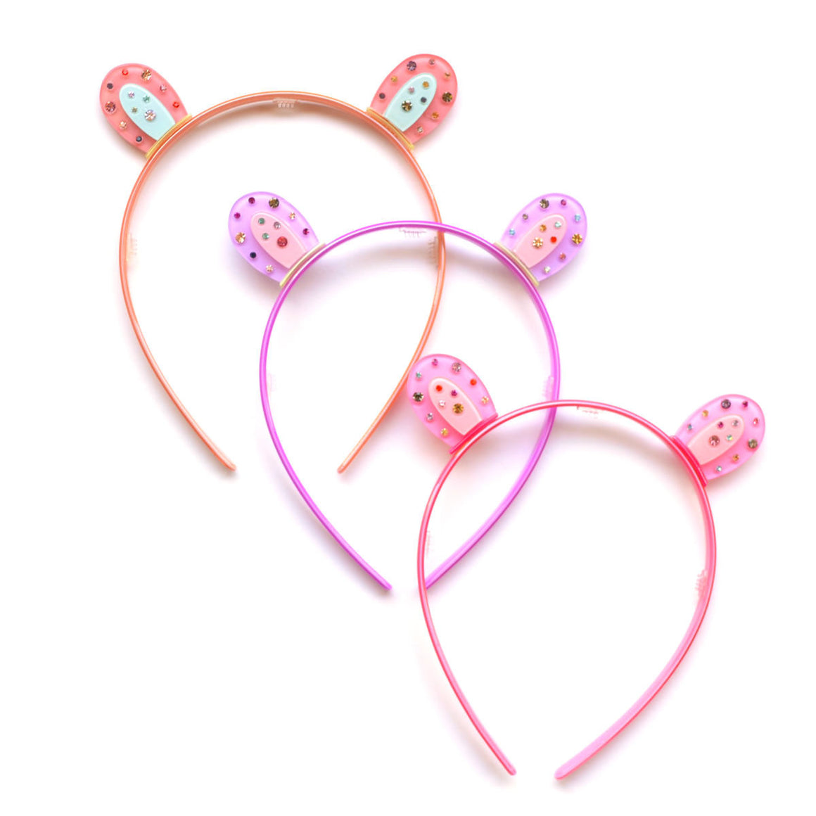 jeweled bear ear headband // hello shiso hair accessories for girls