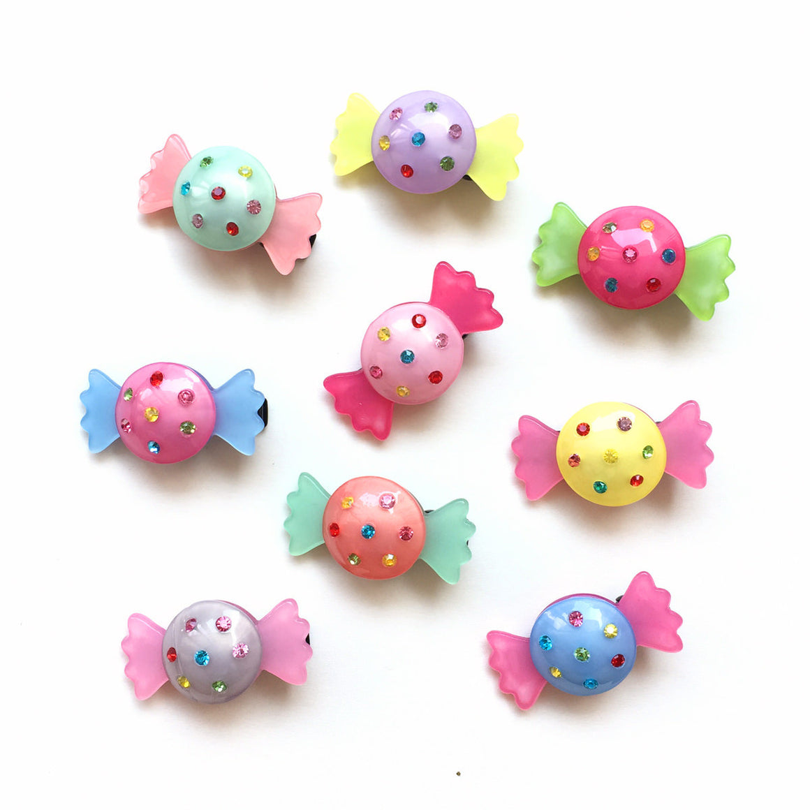 jeweled candy clip // hello shiso hair accessories for girls
