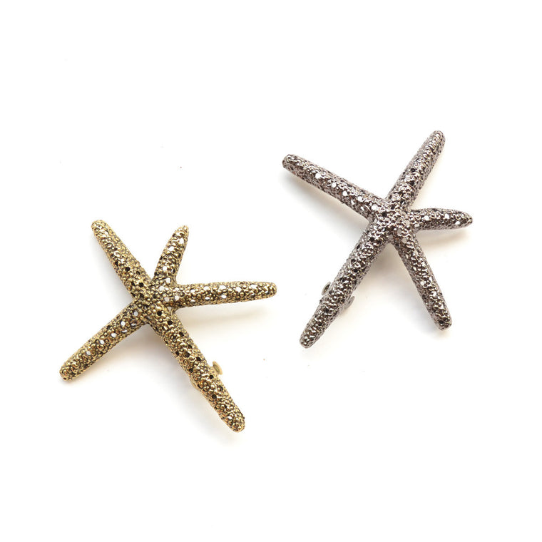 metal starfish clip for women // hello shiso hair accessories