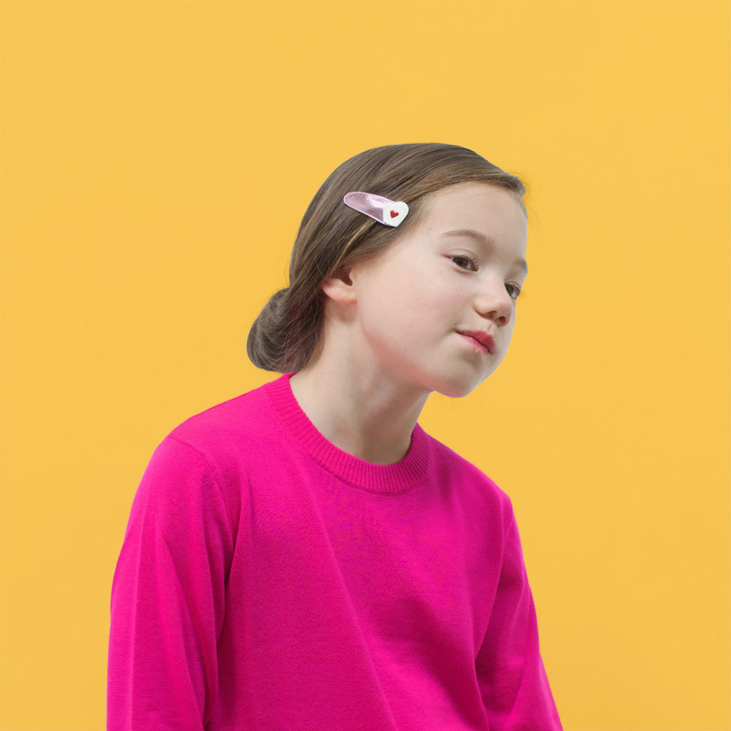 mittens snap clips  //  hello shiso hair accessories for girls