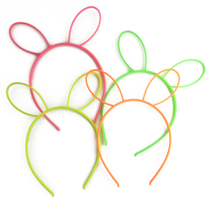 neon bunny headband (sample) // hello shiso hair accessories for girls