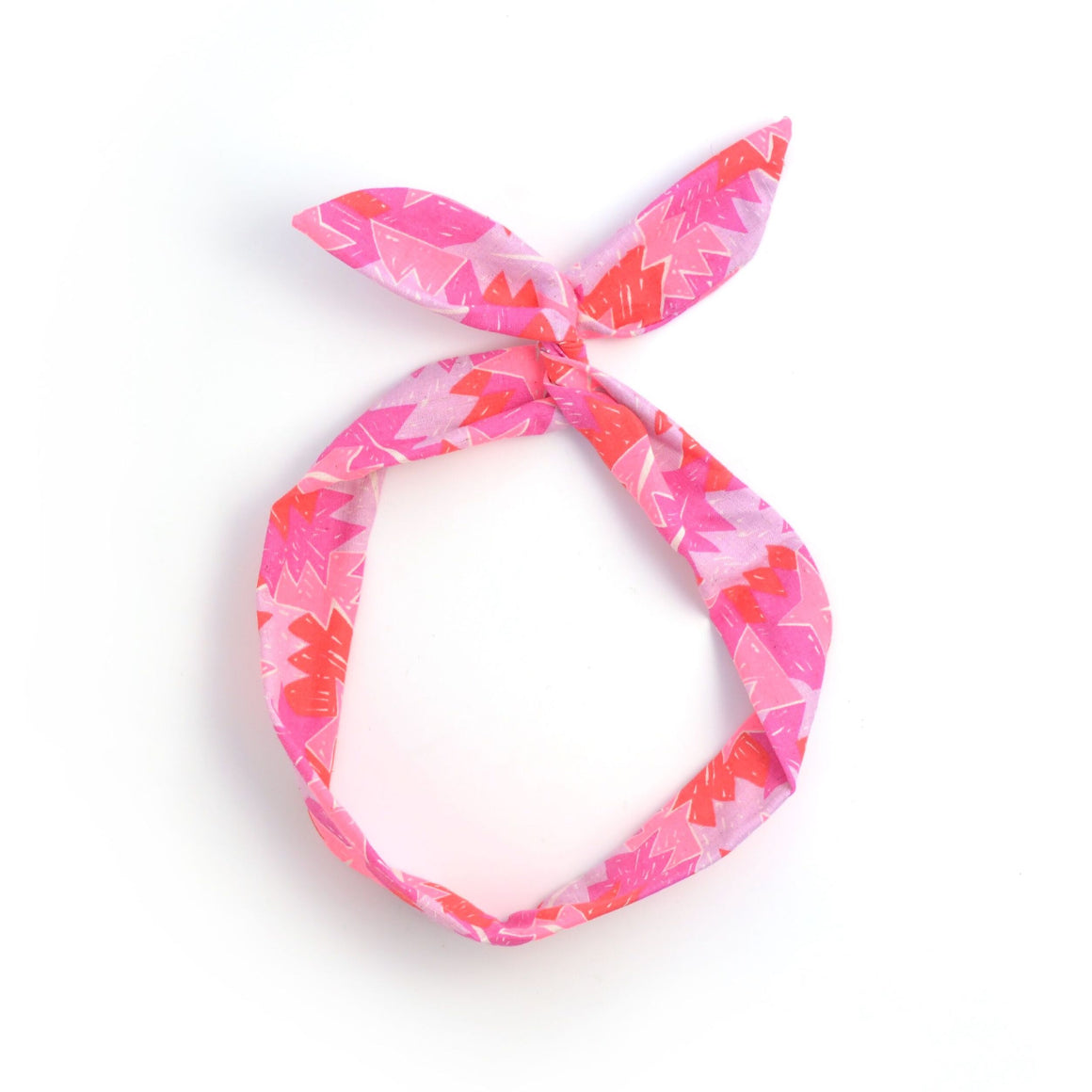 neon zig-zag twist tie // hello shiso hair accessories for girls