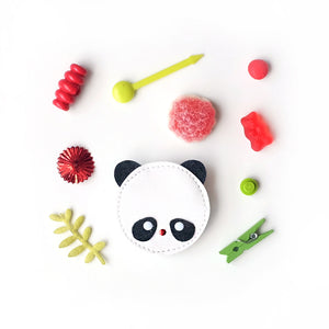 panda clip // hello shiso hair accessories for girls