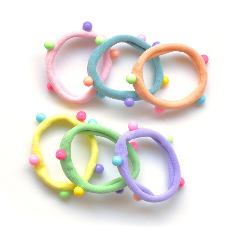 candy dot pony-o // hello shiso hair accessories for girls