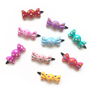 plastic candy clip // hello shiso hair accessories for girls