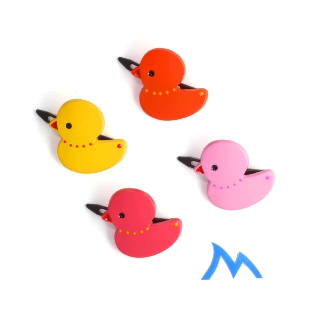 plastic duck hair clip // hello shiso accessories for girls