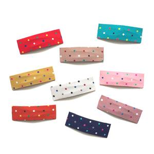 funfetti snap clip // hello shiso hair accessories for girls