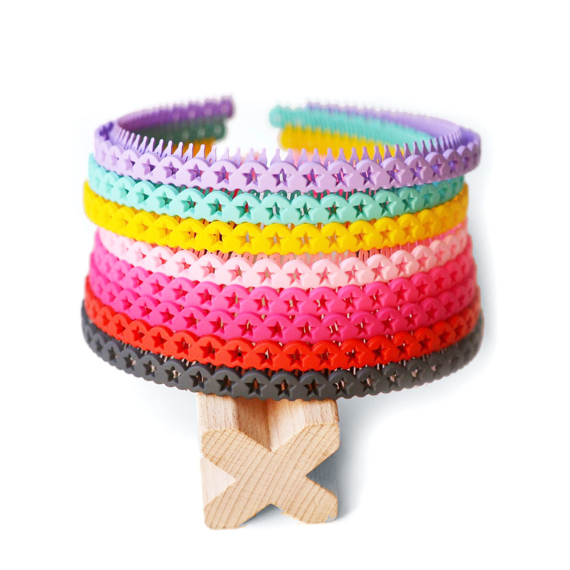 flexible star headband // hello shiso hair accessories for girls