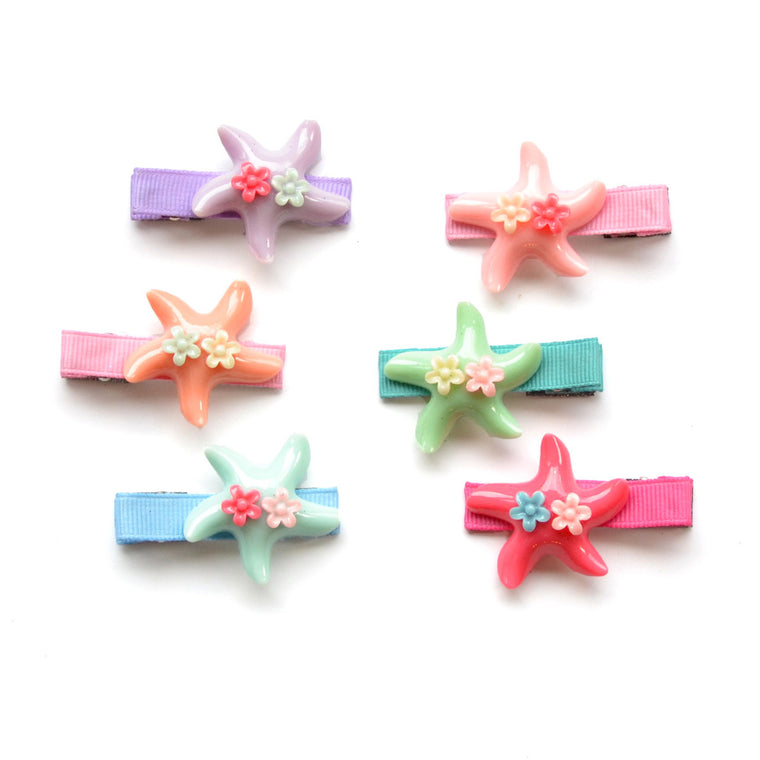 starfish clip // hello shiso hair accessories for girls