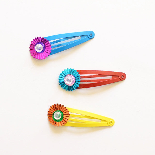 sunburst clip // hello shiso hair accessories for girls
