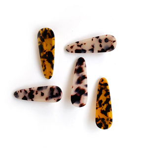 tortoise pinch clip // hello shiso hair accessories for girls