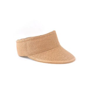 women's raffia visor // hello shiso hair accessories for girls
