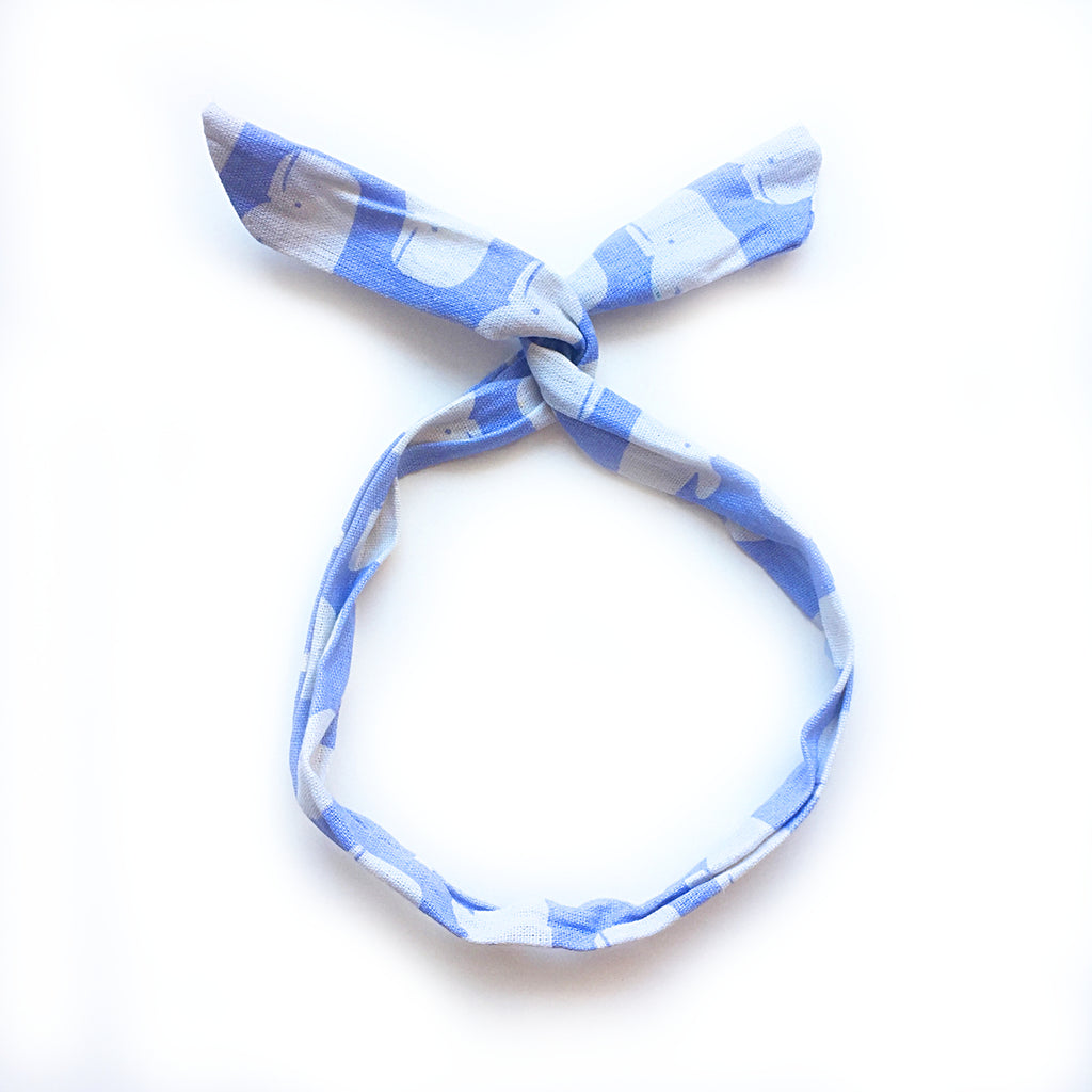 hello shiso hair accessories for girls and women // whale twist headband