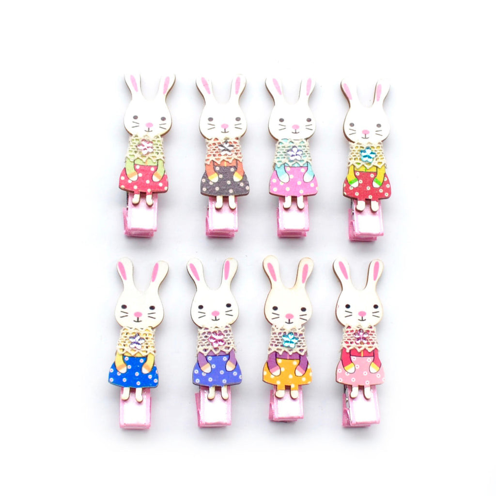 babushka bunny clip // hello shiso accessories for girls