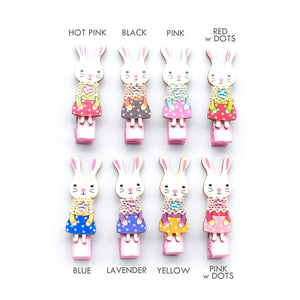 babushka bunny clip // hello shiso hair accessories for girls