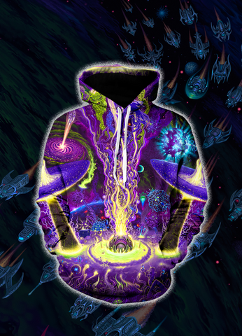 LIMITED EDITION Ultu Ulla All-Over Print Pull-Over Hoodie **6-8 WEEK SHIPPING**