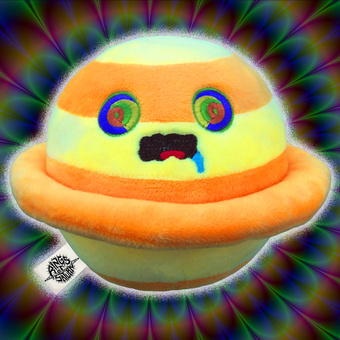 Psychedelic Saturn Plushie