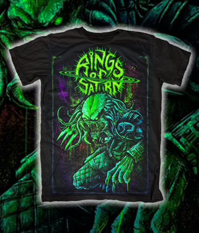 LIMITED EDITION Predator Shirt - Glow in the Dark Green