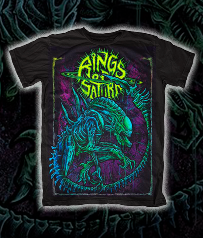 LIMITED EDITION Xenomorph Shirt - Glow in the Dark Green