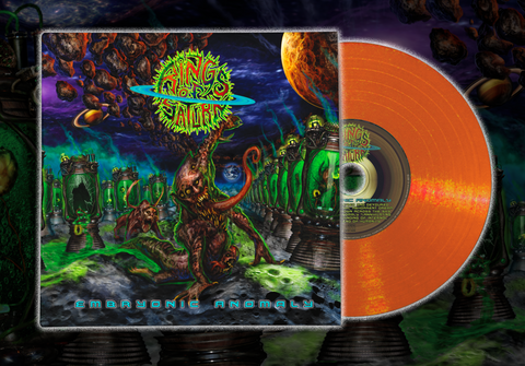Embryonic Anomaly Orange-Comet Vinyl