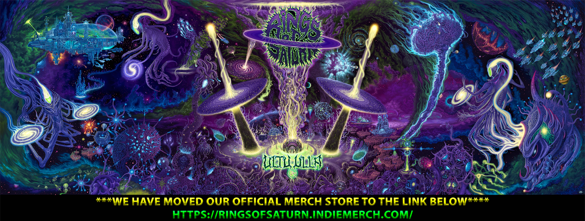 Rings of Saturn Official Merchandise Store