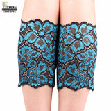 Retro Style Embroidery Stretch Lace Boot Leg Cuffs
