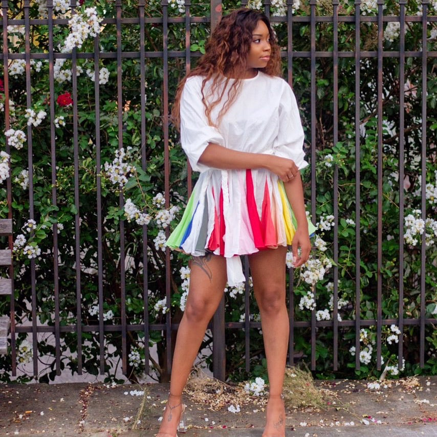 Over The Rainbow | Mini Dress